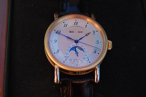 Chronoswiss Lunar Automatic Stahl/Gold